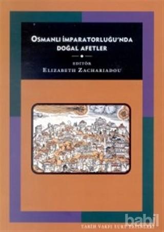 Osmanlı İmparatorluğunda Doğal Afetler Kitap Kapağı