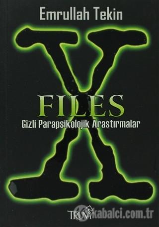 X-Files: Gizli Parapsikolojik Araştırmalar Kitap Kapağı