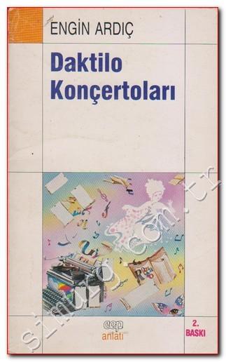 Daktilo Konçertoları Kitap Kapağı