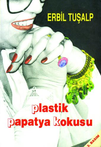 Plastik Papatya Kokusu Kitap Kapağı