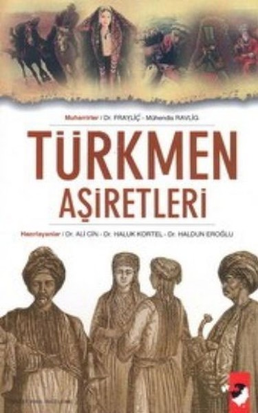 Türkmen Aşiretleri Kitap Kapağı