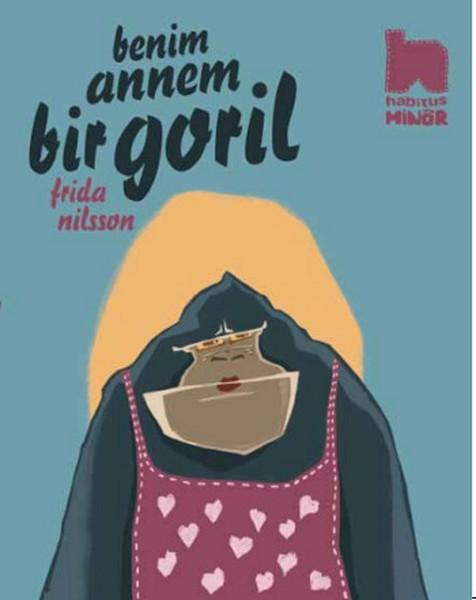 Benim Annem Bir Goril Kitap Kapağı