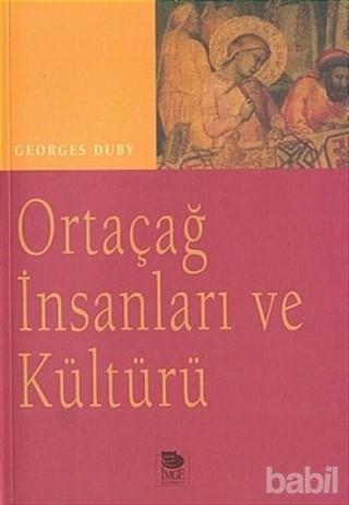 Ortaçağ İnsanları ve Kültürü Kitap Kapağı