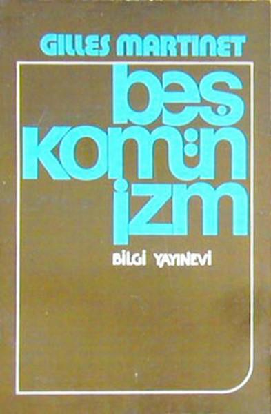 Beş Komünizm Kitap Kapağı