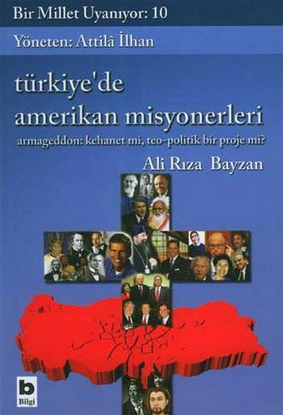 Türkiyede Amerikan Misyonerleri Kitap Kapağı