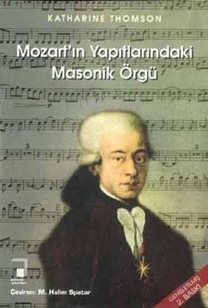 Mozart'ın Yapıtlarındaki Masonik Örgü Kitap Kapağı