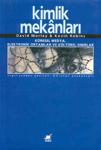 Kimlik Mekanları Kitap Kapağı
