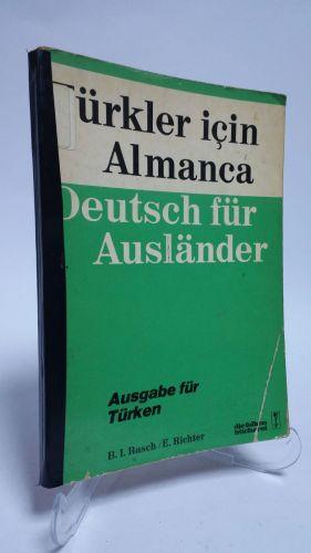 Türkler İçin Almanca Kitap Kapağı
