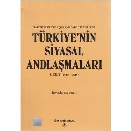 Türkiye'nin Siyasi Antlaşmaları Kitap Kapağı