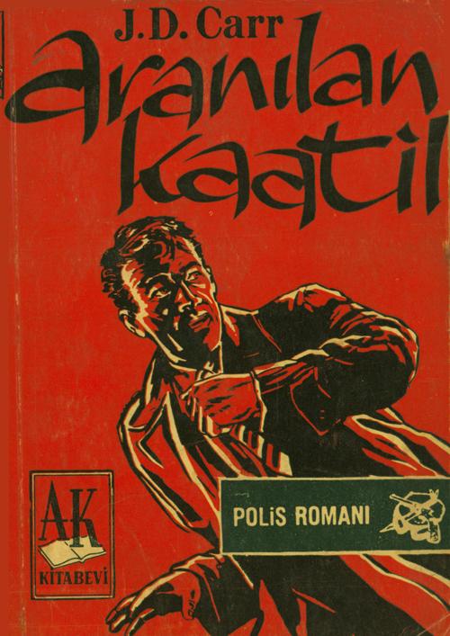 Aranılan Kaatil Kitap Kapağı
