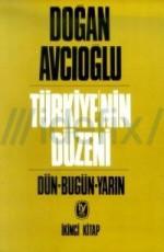 Türkiye'nin Düzeni 2.Cilt Kitap Kapağı