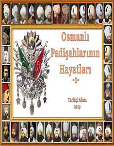 Osmanlı Padişahları 1 Kitap Kapağı