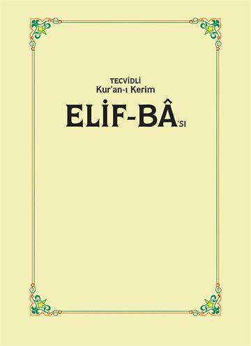Elif Ba Kitap Kapağı